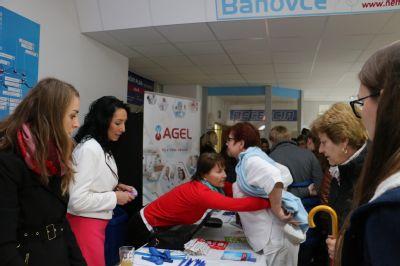Bánovská nemocnica dnes privítala približne 400 ľudí na svojom prvom DOD