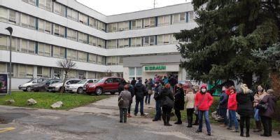 V bánovskej nemocnici urobili v decembri takmer 6400 testov na koronavírus