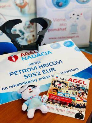 Vďaka kolegom z bánovskej nemocnici a NADÁCII AGEL pôjde ošetrovateľ Peter na rehabilitačný pobyt